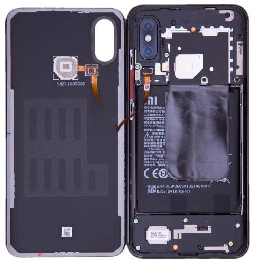 Xiaomi Mi 8 hátlap csere ár