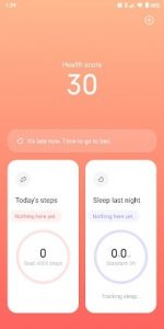 A Xiaomi új fitness alkalmazást készít
