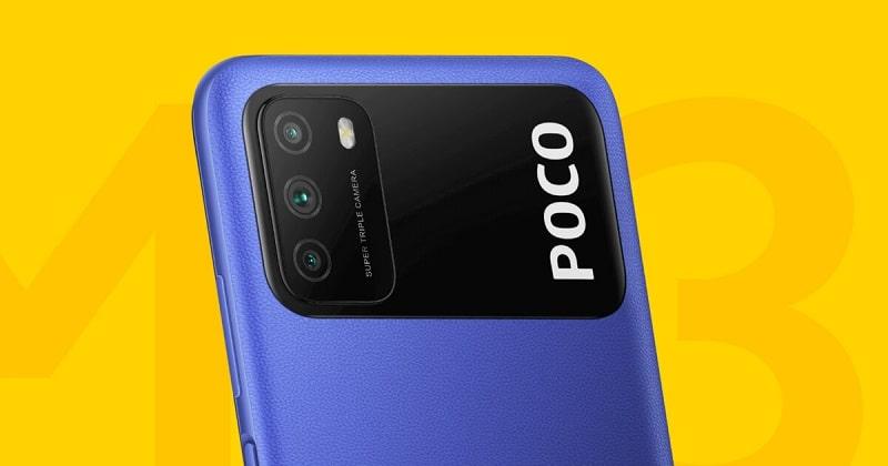 Poco M3 kamerák