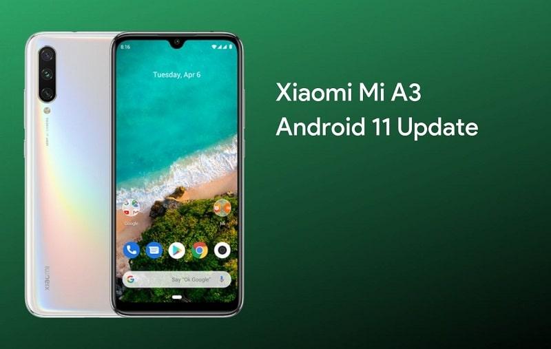 Android 11 frissítés tönkreteheti a Xiaomi Mi A3-at