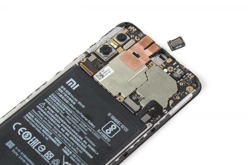 Xiaomi mikrofon csere