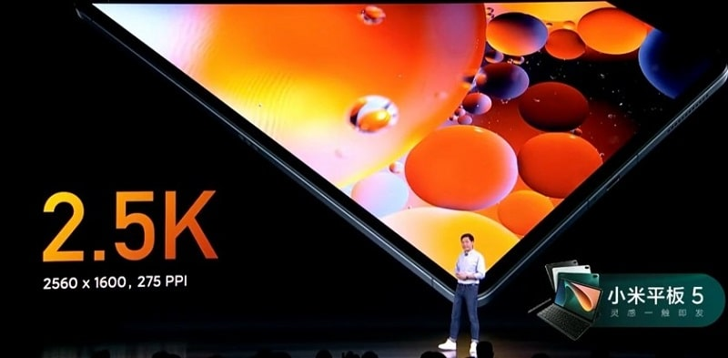 Xiaomi Mi Pad 5 kijelző